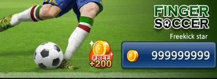 Finger soccer coins mod