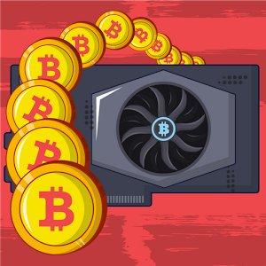 Bitcoin mining mod