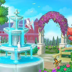 Royal Garden Tales Match 3 Castle Decoration mod